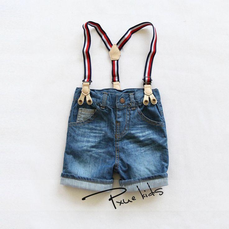 Дешевое 2015 новый летний мода мальчики джинсовые комбинезоны свободного покроя стиральная изношенные джинсы шорты простые проката края мыть джинсы чулок шорты, Купить Качество Комбинезоны непосредственно из китайских фирмах-поставщиках:    Размер: 2-3, 3-4, 4-5, 5-6, 7-8, 9-10        1 лот = 6 шт. = 1 цвет * 6 размер        Подходит для высота 90-130 см д