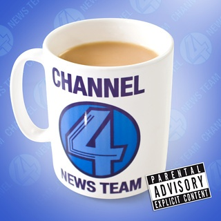 Great Odin's raven! Channel 4 News Team Mug - with a special message for San Diegans on the bottom.