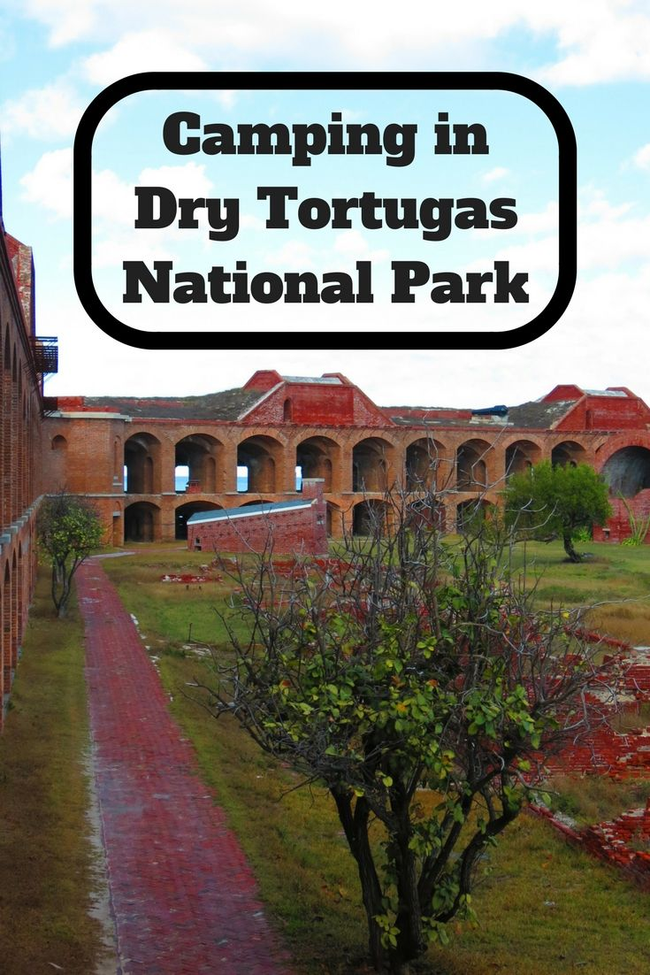 The best way to see Dry Tortugas National Park is to go camping in the park.  The campground is rarely full and is a great place to avoid the crowds and camp on a beach.  This guide will help you plan your camping trip to Dry Tortugas National Park, Florida.   via @matdifference