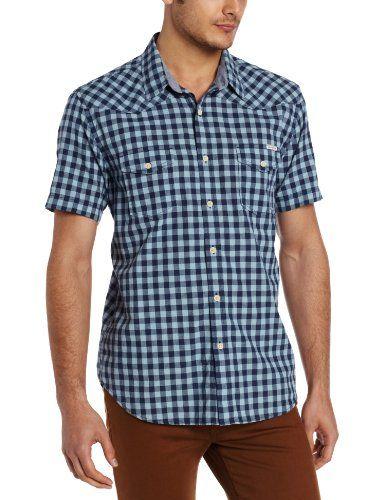Lucky Brand Mens Haddington Gigngham Western Shirt, Blue Multi, MED Lucky Brand,http://www.amazon.com/dp/B00CJR3HA2/ref=cm_sw_r_pi_dp_PK.Gtb0AG8FQJBAZ