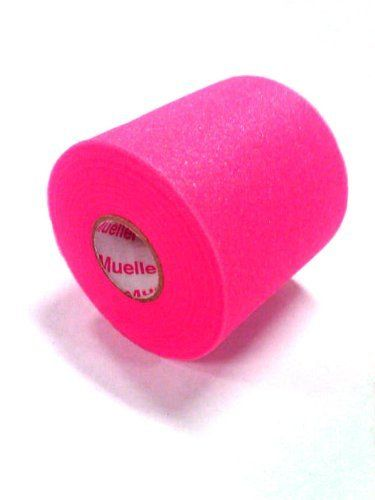 """Foam Underwrap / Prewrap for Athletic Tape - Big Pink - 48 pack by Mueller. $59.99. MWrap¨ Colored Pre-taping foam underwrap helps protect skin from tape chafing. Can be used to hold pads and socks in place and as a protective wrap inside hiking boots, ski boots, and other athletic footwear. 2 3/4"""" x 30 yds."""