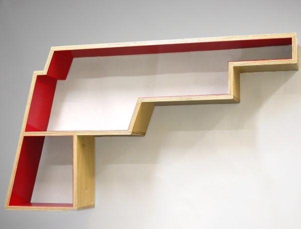 Modern Wall Shelf Ideas: 16 Best Images About Modern Wall Shelves Design Ideas On