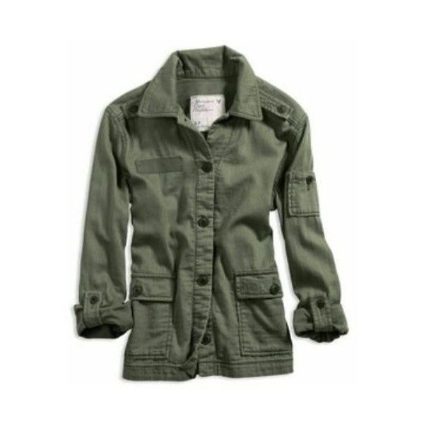 Green Jacket Women