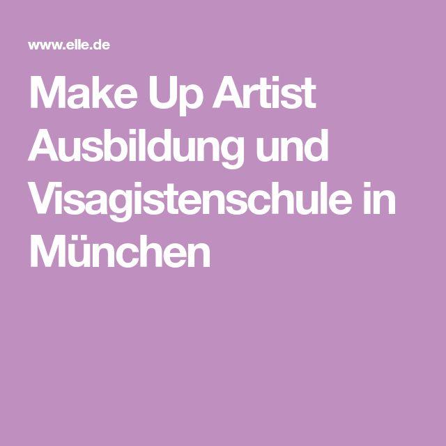 Make Up Artist Ausbildung und Visagistenschule in München