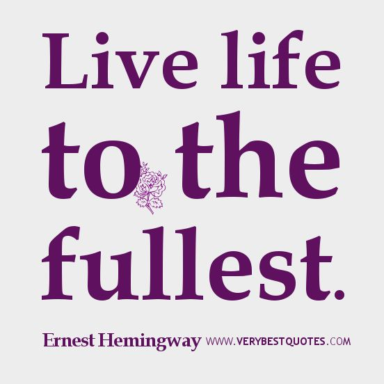 Life Quotes Live About
