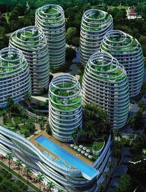 Le Meritt ELIPSIS, with its futuristic international architecture, will be amongst the biggest developments in Mauritius | FOR SALE