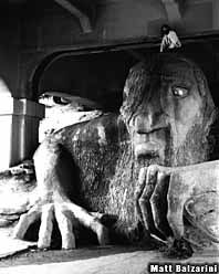 The Fremont Troll was in 10 Things I Hate About You!  Stay at the Red Lion Hotel Seattle Airport or On Fifth Avenue and take in the famous sight!