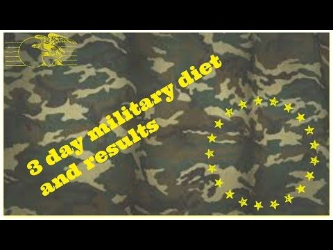 The Military Diet…..In three days you should lose up to 10 pounds. After three | How Do It Info