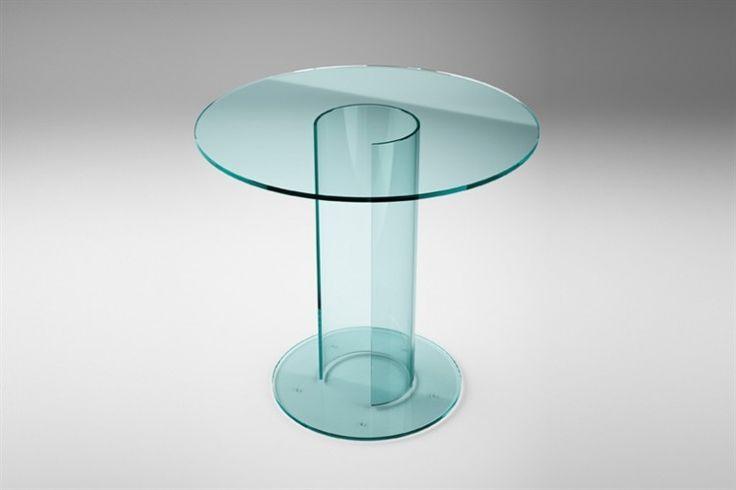 GlazenDesignTafel.nl   Glazen eettafel LUXOR BISTROT   FIAM   Italian design   Glass table by Rodolfo Dordoni   vidre glastoepassingen, Leiden   vidre.nl