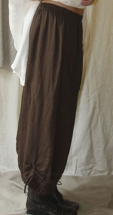 Free Sewing pattern by Tina Givens. The perfect pant pattern.