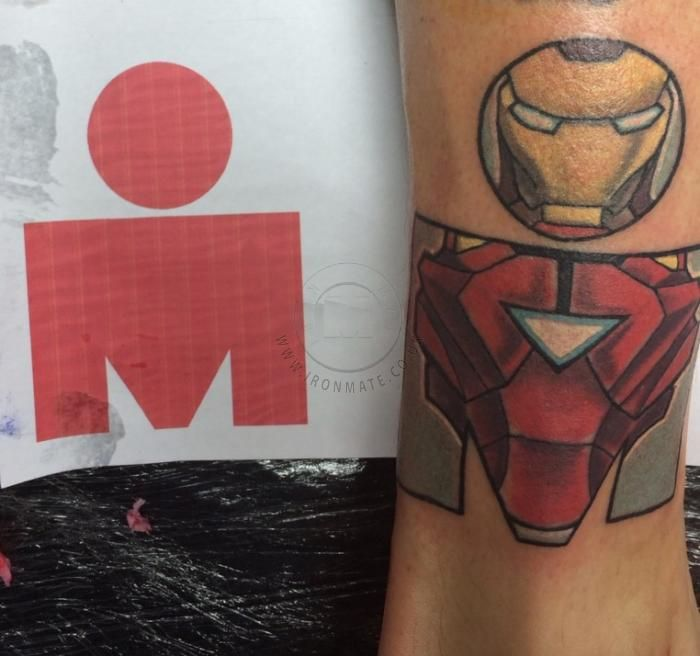 Selection of M-Dot Ironman Triathlon Tattoos from around the world