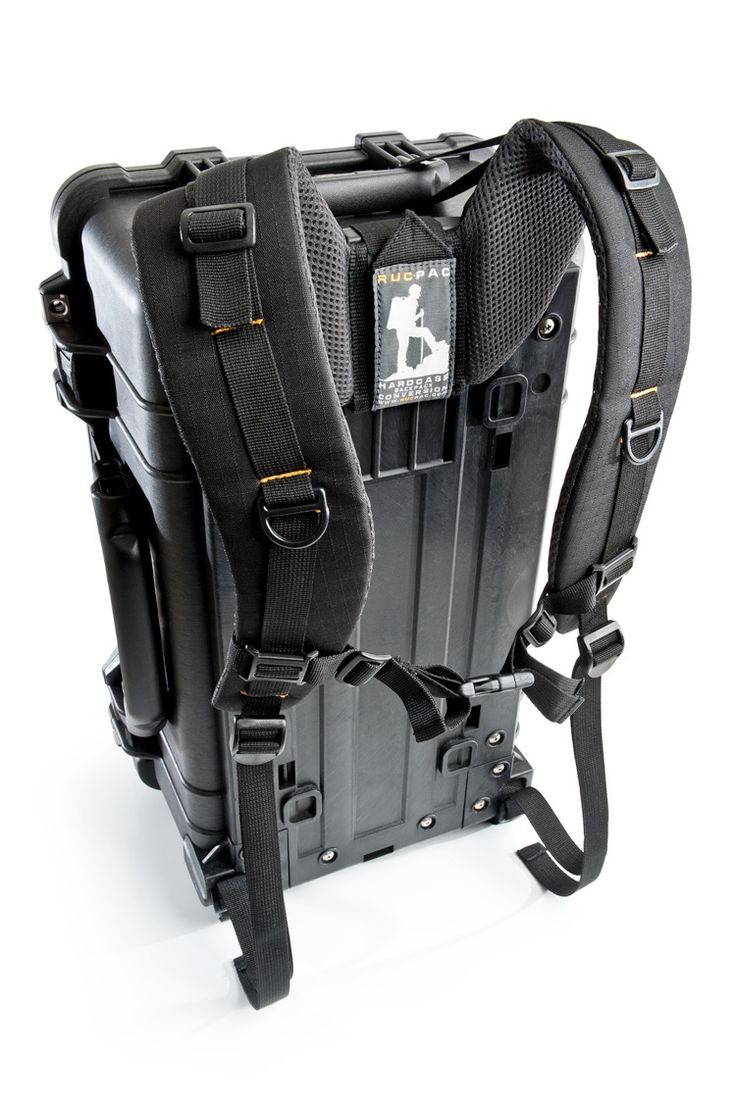 RucPac - Hardcase Backpack Conversion Strap System for Pelican Cases