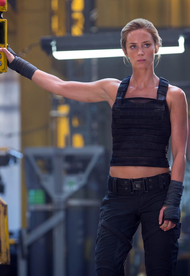 "Emily Blunt as Rita Vrataski | ""Edge of Tomorrow"" (2014) great physical condition"