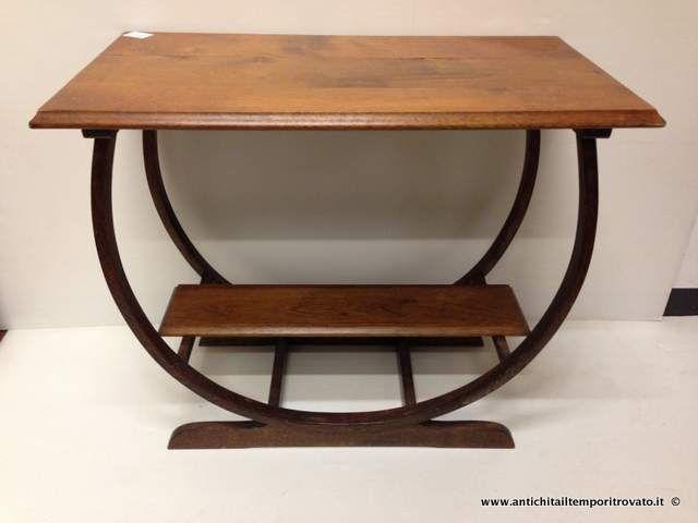 Mobili antichi - Tavoli e tavolini - Antico tavolino di design Tavolino deco - Immagine n°1