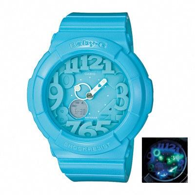 Casio BGA-130-2B Blue Neon dial Watches Casio Baby-G Watches at www.Bodying.my