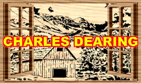 An old structure tucked into a beautiful landscape from Scroll Saw Pattern designer Charles Dearing.