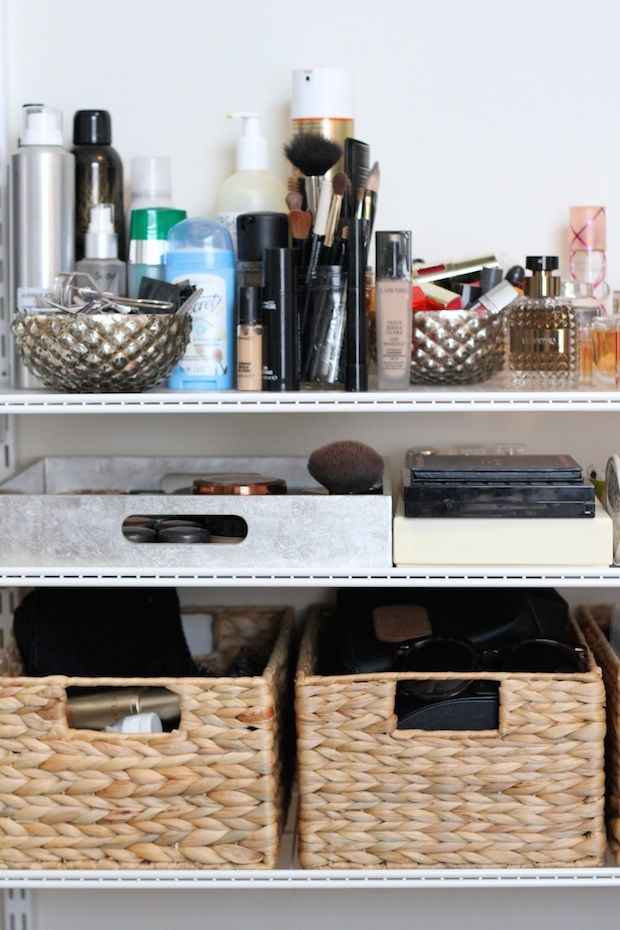 How to Maximize a Small Space: Making the most of 95 square feet in New York City! // #smallspaces #organization @containerstore