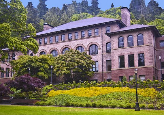 Old Main at Western Washington University - I dont know a thing about this university but this campus looks like a ski lodge!