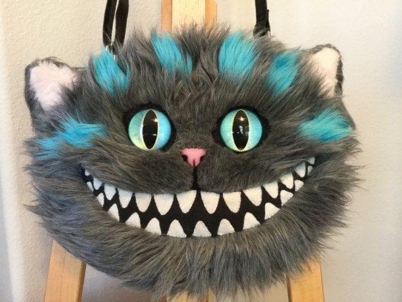 Sac à bandoulière chat de Cheshire