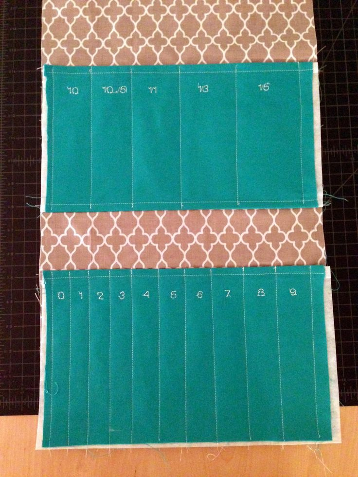 Knitting Needle Case Sewing Pattern : Best 25+ Knitting needle case ideas on Pinterest