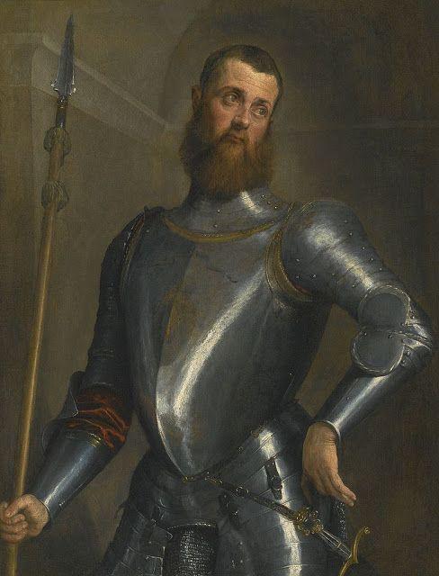 Πορτρέτο τζέντλεμαν - Στρατιωτικός με την πανοπλία του