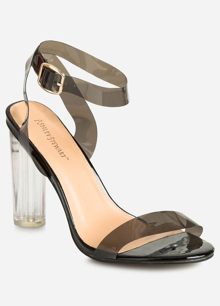 c08aba169424 Strappy Lucite Sandal - Wide Width Strappy Lucite Sandal - Wide Width