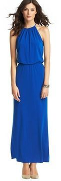 LOFT Halter Neck Maxi Dress on shopstyle.com