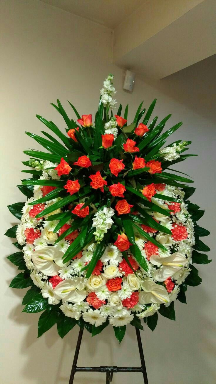 Pin By Tilly Matilda On Wreaths Arrangements Pinterest Funeral