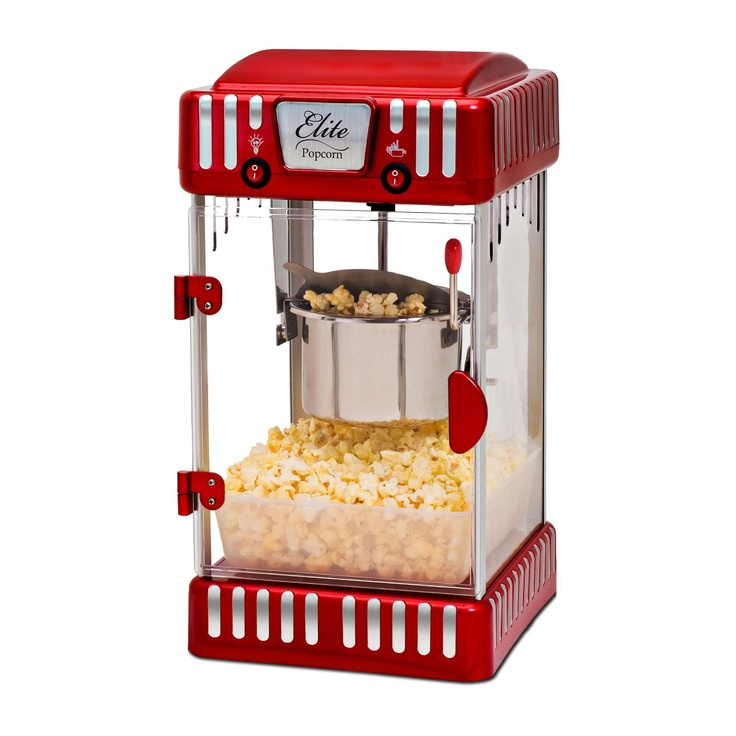 Candy Lanier I Can Bring Over My Popcorn Machine Small