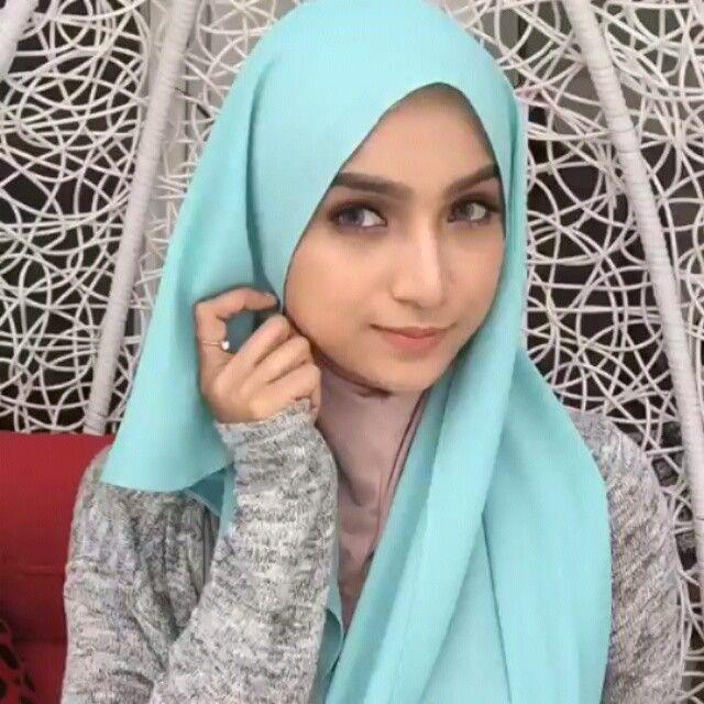 Thankyou baby, keep inspiring :) . . Hijab tutorial by @farahanimrazak