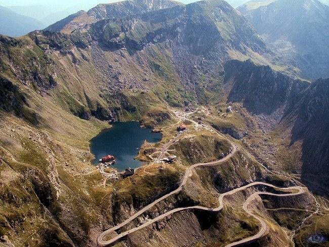 Go to highest point on the Transfagarasan highway, Balea Lake.
