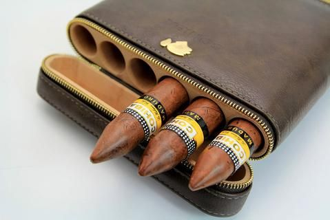 "Take Your Favorite Cigars Anywhere!! Holds 6 cigars not bigger than 60 ring gauge. (Diameter: 0.94"", Lenght 6.5"") #cigar #cigarcase #leather #cigarlife #smoker #cigaraficionado #cigarsociety #cigarsnob #cigarworld #cohiba #luxury #cuban #habanos #habano #cigars  #entrepreneur #havana #luxurylifestyle #cigarshop"
