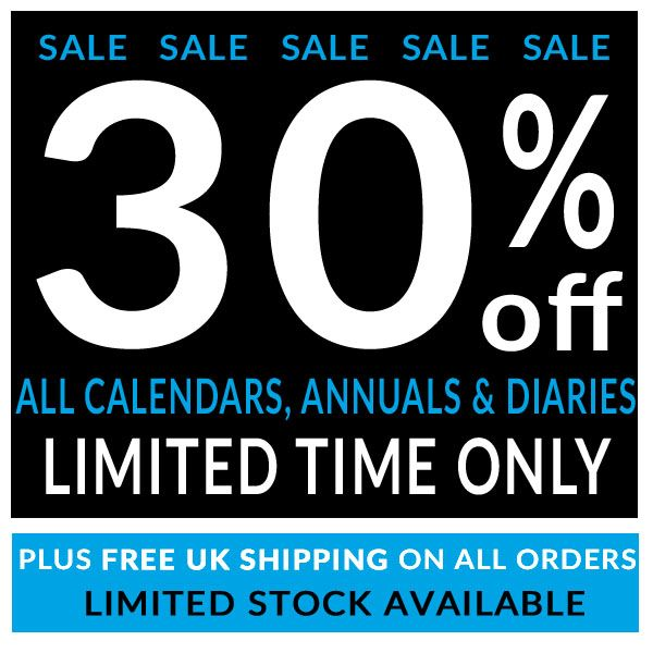 #SPECIALOFFER 30% OFF all official 2018 #Calendars #Diaries & #Annuals for your favourite TV, Film, Music, Gaming & Sports brands! Hurry as limited stock available! http://www.danilo.com