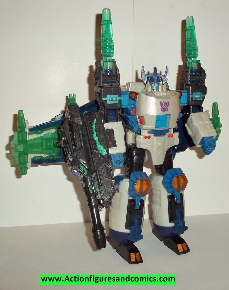 Transformers energon GALVATRON 2004 hasbro action figures 99% complete