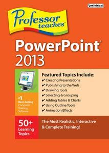 Professor Teaches PowerPoint 2013 - Windows [Digital Download]