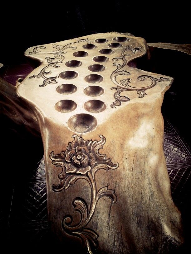 #craft #Wood #Game #Congklak
