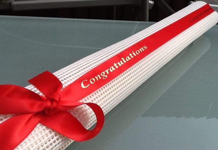 Our Rosette Holder Gift Wrapped