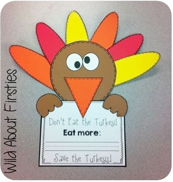 9 Easy and Fun Thanksgiving Activities for Kindergarten - cute craftivity to go along with The Thanksgiving Surprise