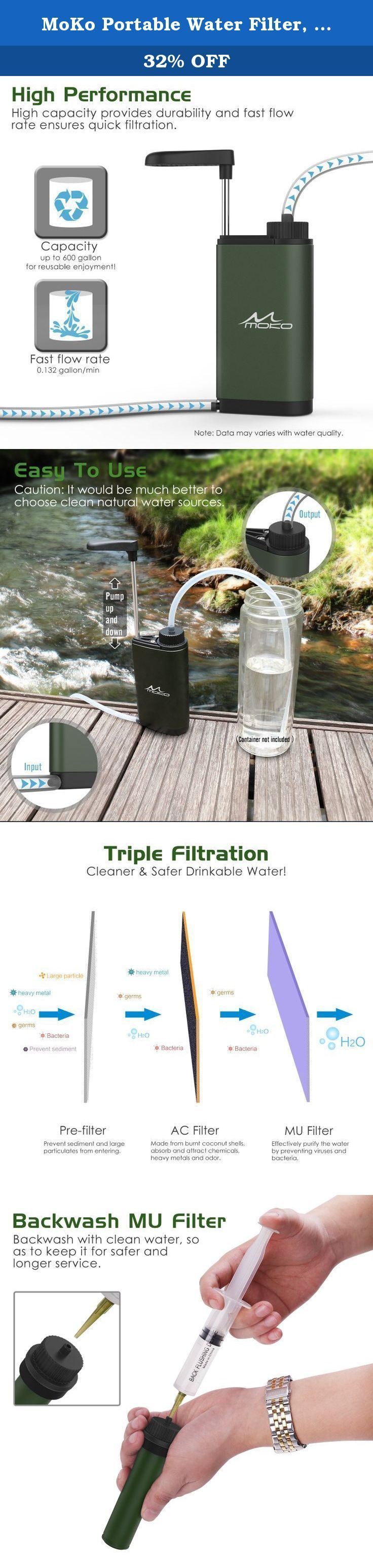 17 Best Ideas About Camping Water Filter On Pinterest