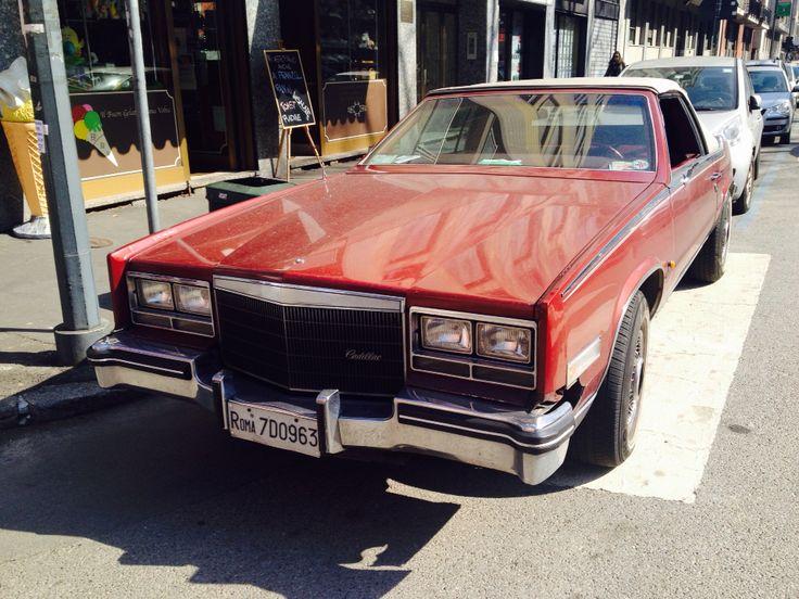 #Vintage #Cadillac car in #Milano