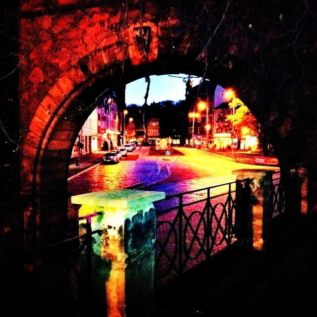Eisenach city gate.