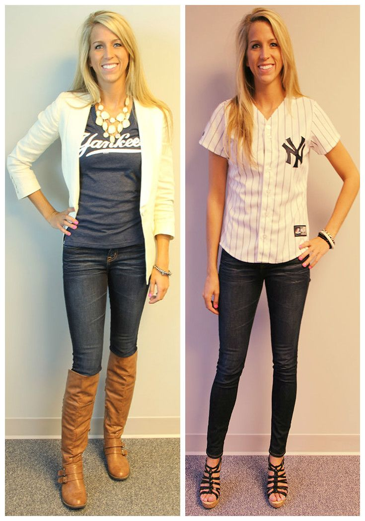 Jordan shows off two Yankees outfits that are perfect for watching games from home, the bar or at the stadium. Get these tops and more here at LIDS.com