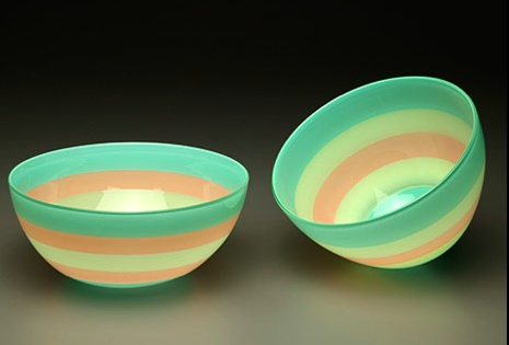 Boyd Sugiki bowls in pastel hues.