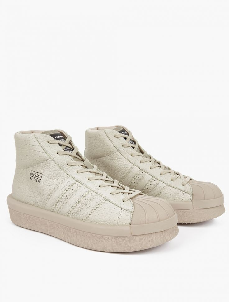 Adidas By Rick Owens | Pro Model Oversized Superstar Sneakers | As part of his…