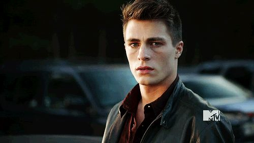 Colton Haynes Jaw Clench