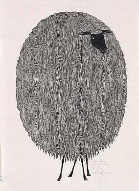 The Sheep- Jacques Hnizdovsky