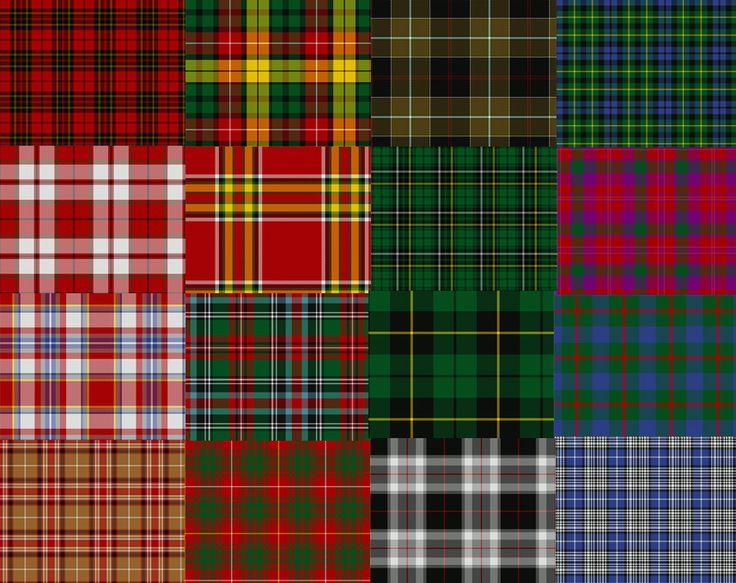 também conhecido como xadrez escocês porque originou-se na Escócia (lembra da imagem clássica dos kilts? Ele tem padronagem tartã), com a estampa em um tecido leve de lã. É composto por listras e barras de tamanhos e cores idênticas que, misturados, resultam em um efeito xadrez com diferentes tonalidadades.