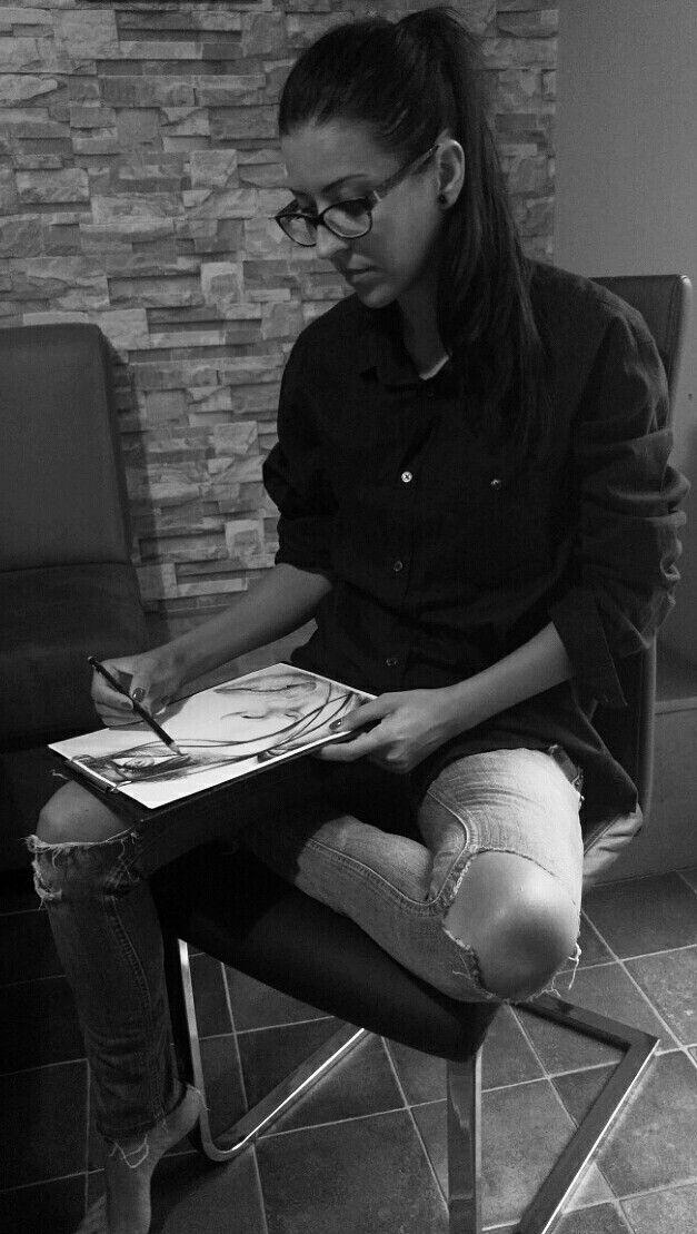 Klaudia Hajós-Tar #me #artist #artistatwork
