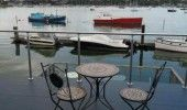 Houseboat Harbourside View, Bembridge, Isle Of Wight, England. Bed and Breakfast Holiday.