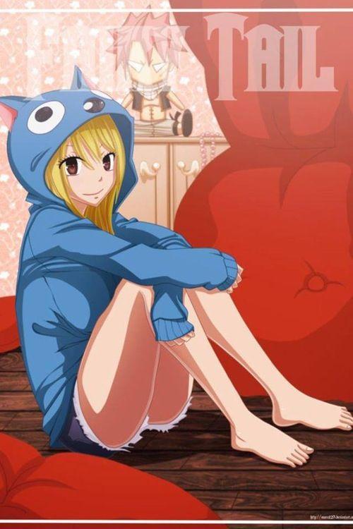 Lucy, Fairy tail. Anime girl